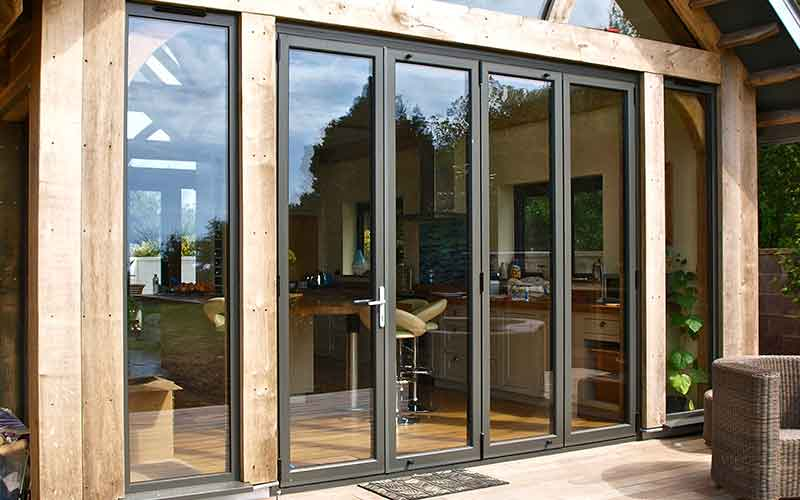 Bi Folding Doors Prestige Windows